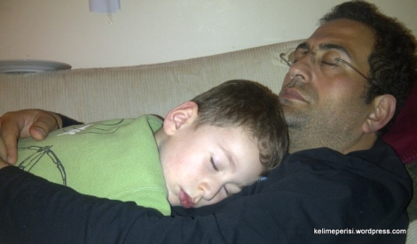 bir başka baba kuzusu anının resmi:))